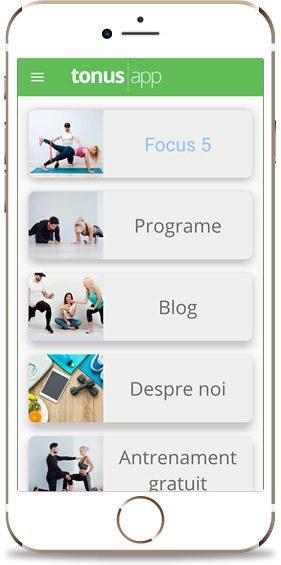 Aplicatia TonusApp